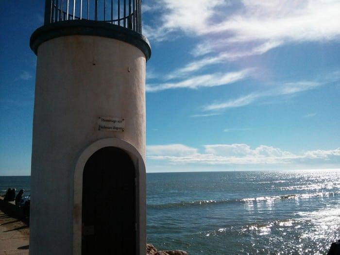 Jetée à Valras-plage Hérault