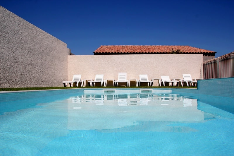Piscine des locations de vacances dans l'Hérault