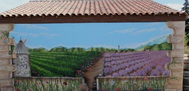 Peinture de la location de vacances