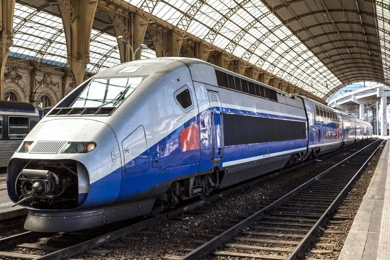 Venir dans l'Hérault en train