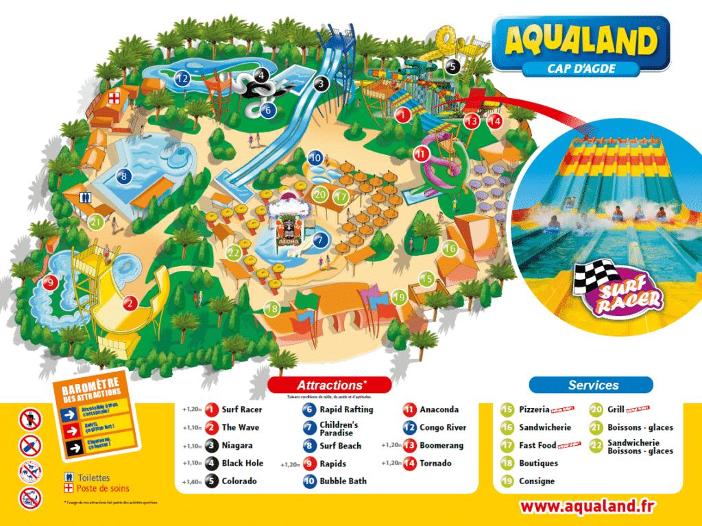 Aqualand au Cap d'Agde
