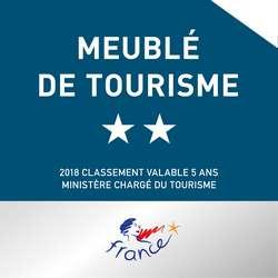Gite classé 2 étoiles en Meublé de tourisme